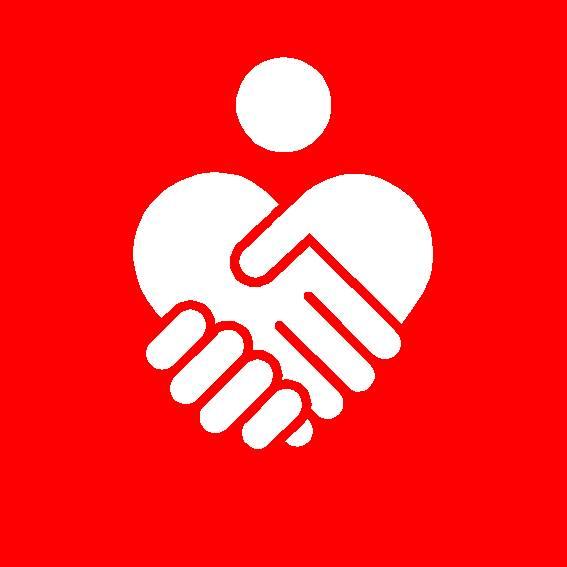 Miteinander ist einfach_Hände_weiß