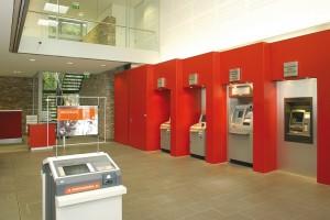 SB-Bereich einer Sparkasse