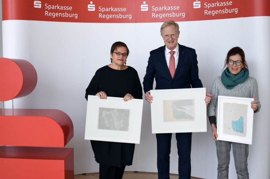 KUNSTAUSLOBUNG DER SPARKASSE REGENSBURG: Interview mit Renate Höning