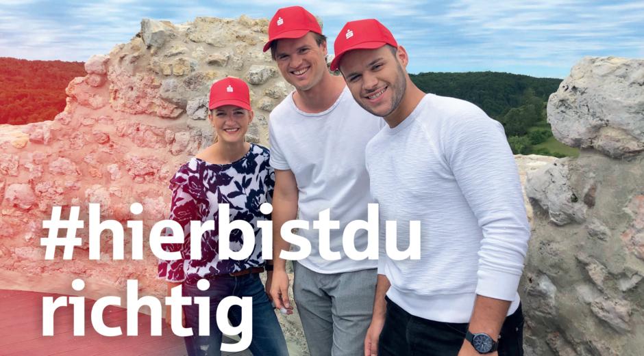 #HIERBISTDURICHTIG: Ausbildung bei der Sparkasse Regensburg!