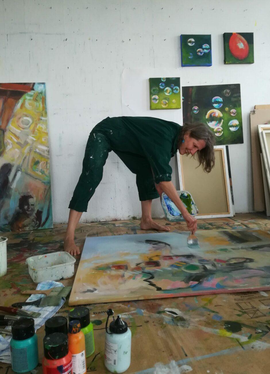Kunst in der Sparkasse Regensburg: Interview mit Nina Seidel-Herrmann