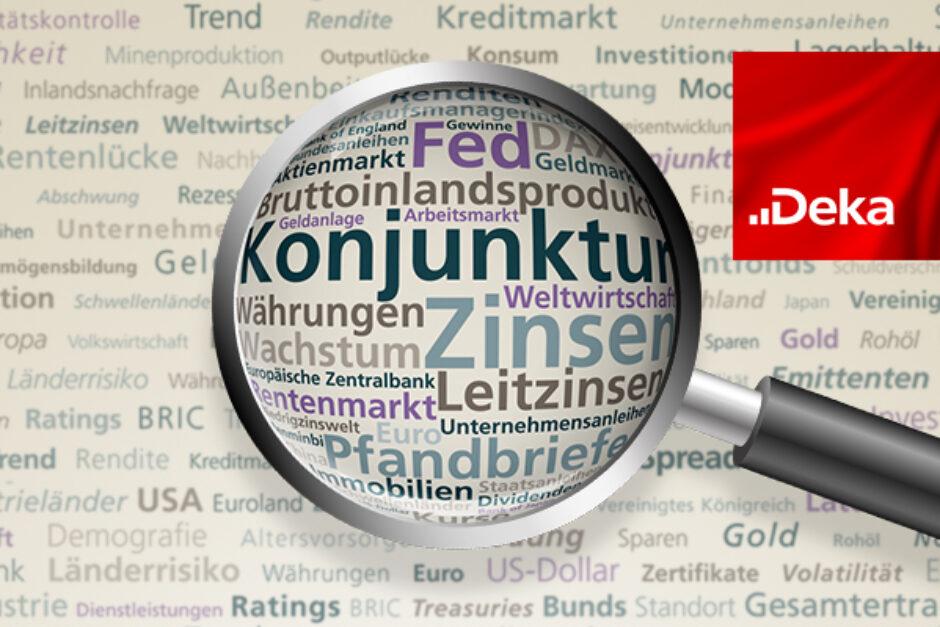 Volkswirtschaft Prognosen der DekaBank: Geruhsam, gemächlich, gelassen